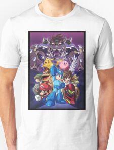 Smash 4 Mega Man Reveal Illustration T-Shirt