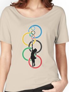 Olympic Dream - Banksy Inspired Women's Relaxed Fit T-Shirt