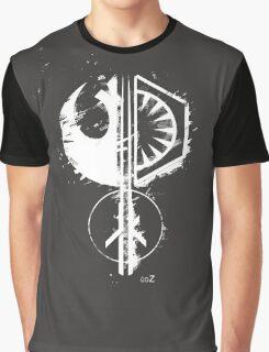 Star emblems Graphic T-Shirt