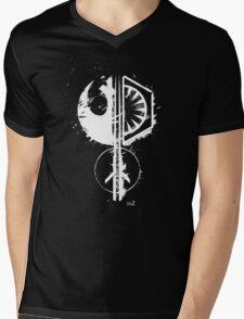 Star emblems Mens V-Neck T-Shirt