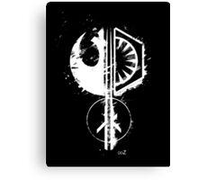 Star emblems Canvas Print
