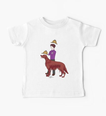 Young Sherlock & Redbeard, Consulting Detectives Baby Tee