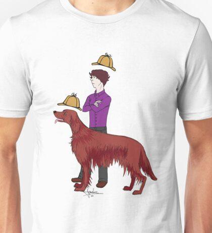 Young Sherlock & Redbeard, Consulting Detectives Unisex T-Shirt