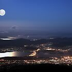 Hobart City Lights  by Robert-Todd