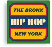The Bronx Hip Hop Canvas Print