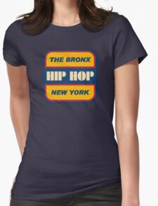 The Bronx Hip Hop Womens Fitted T-Shirt