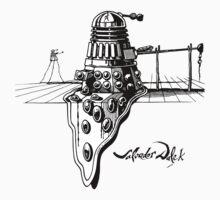 Salvador Dalek by tshirtsfunny