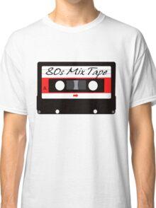 80s Music Mix Tape Cassette Classic T-Shirt