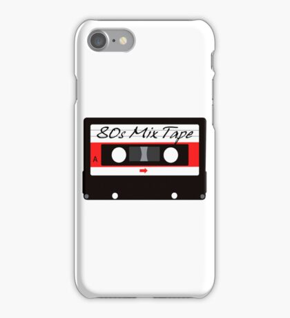80s Music Mix Tape Cassette iPhone Case/Skin