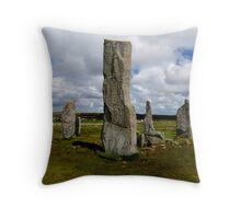 Callanish Stone Circle Throw Pillow
