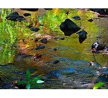 Colour streaming Photographic Print
