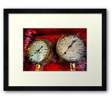 Gauges - Abstract Framed Print