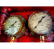 Gauges - Abstract Photographic Print