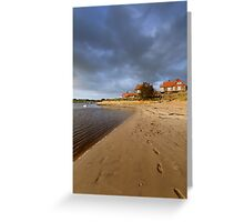 Alnmouth Greeting Card