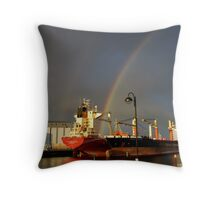Cargo Fleet Throw Pillow
