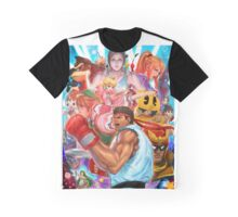 Smash 4 Ryu Reveal Illustration Graphic T-Shirt