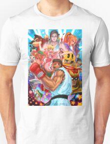 Smash 4 Ryu Reveal Illustration T-Shirt