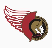 Senators-Red Wings Logo Mashup by Phneepers