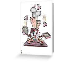 Love Chefs Greeting Card
