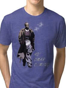 Omar Little Tri-blend T-Shirt
