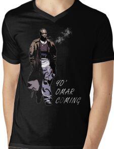 Omar Little Mens V-Neck T-Shirt