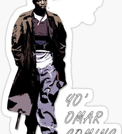 Omar Little Sticker
