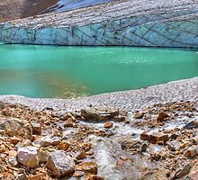 Cavell Glacier and Cavell Pond by JamesA1
