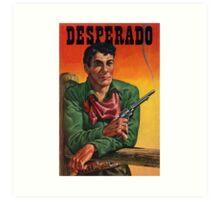 Vintage Desperado Art Print