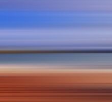 Horgabost Abstract by English Landscape Prints