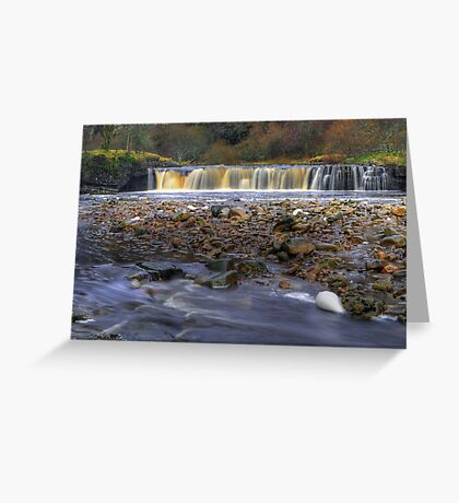 Wainwath Force Greeting Card