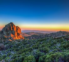 The Cathedral,Mount Buffalo by Adam Armstrong