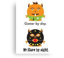 Mr. Gamer Canvas Print