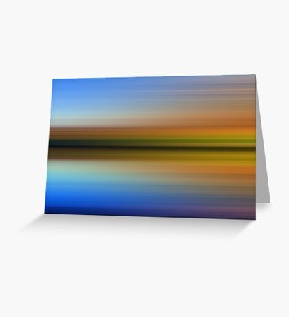 Rydal Water - Abstract Greeting Card