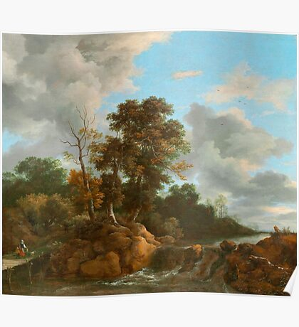 Landscape painting  Poster
