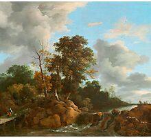 Landscape painting  Photographic Print