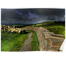 Hadrians Wall Poster