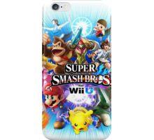 Super Smash Bros for Wii U iPhone Case/Skin