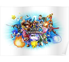 Super Smash Bros for Wii U Poster