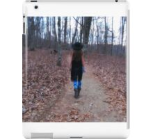 Not all that wander are lost iPad Case/Skin