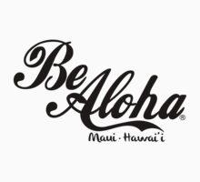 Be Aloha Logo One Piece - Long Sleeve