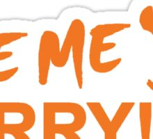 Save Me Barry! Sticker