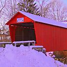 Logan Mills Covered Bridge by Mike Griffiths