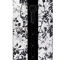 Harry Styles B/W Flowers Photographic Print