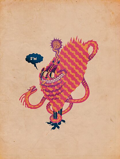 Cat on LSD by Carbono Canibal