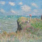 Claude Monet - Cliff Walk at Pourville by TilenHrovatic