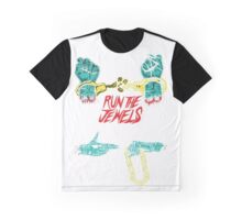 Run The Jewels OneTwo OneTwo Tour 4 Graphic T-Shirt