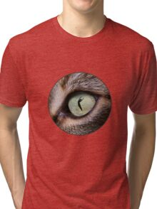 Cat Eye Tri-blend T-Shirt