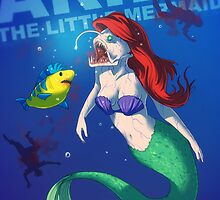 Ariel the little mermaid BADASS by tohad