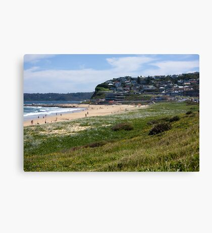Merewether - Suburb By The Sea Canvas Print