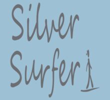 Silver surfer One Piece - Short Sleeve